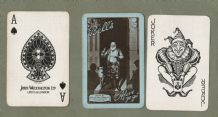 Vintage adverting playing cards, Bell's Scotch Whisky
